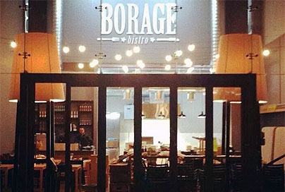 We review Borage, the new gourmet brasserie on the Foreshore