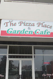 The Pizza Place and Garden Cafe