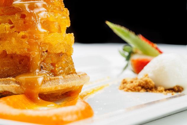 A dessert at Cafe BonBon.
