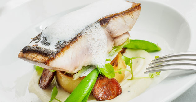 A fish dish at Cafe BonBon. Photo courtesy of the restaurant.