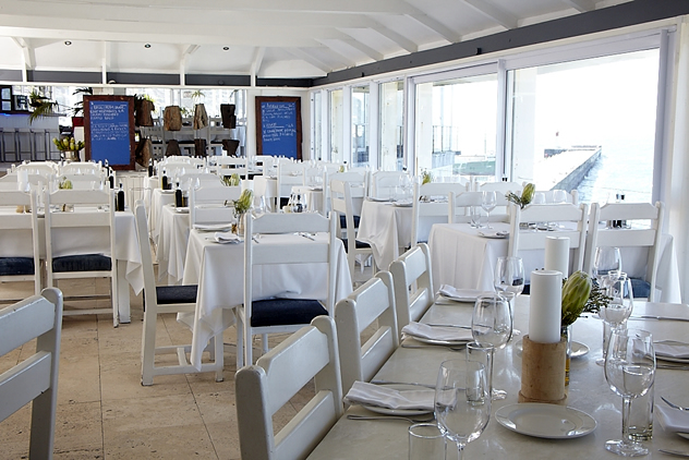 The interior at Harbour House. Photo courtesy of the restaurant.