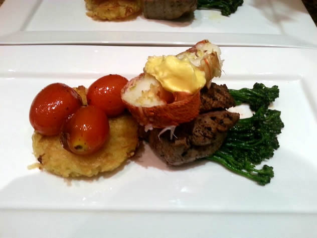 Surf and Turf at Taste Bistro. Photo courtesy of the restaurant.