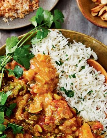 how to make okra curry