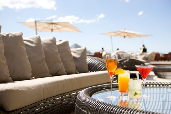Cocktails on the San Deck