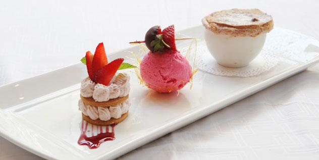 Dessert at Parc Ferme