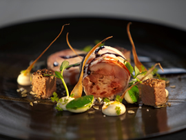 This dish was prepared by Chef Darren Badenhorst of The Restaurant at Grande Provence