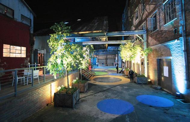 The Sheds@1Fox courtyard