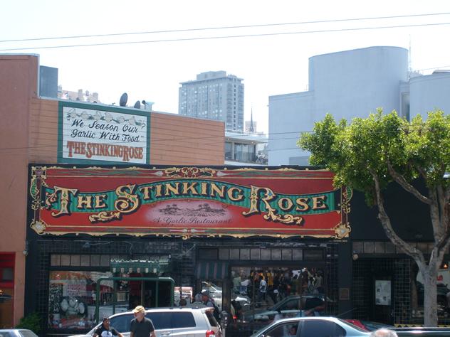 The Stinking Rose. Photo by Jill Clardy
