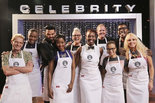 The contestants for MasterChef South Africa Celebrity 2015