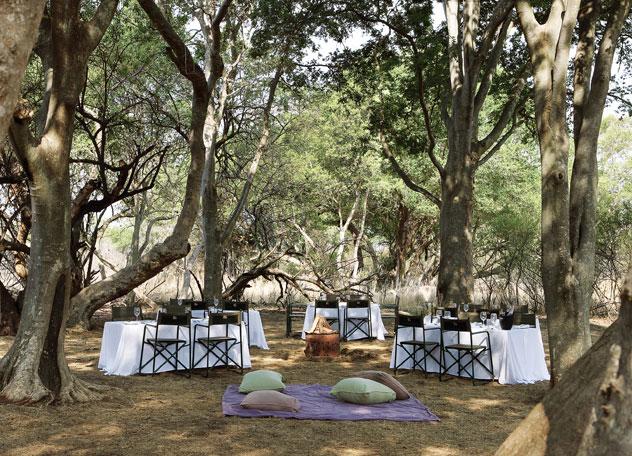 A picnic at Le Sel