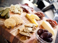 Cheese board at Salt Eatery