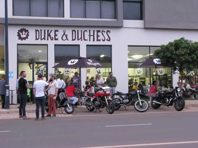 The outside at Duke & Duchess. Photo courtesy of the restaurant.