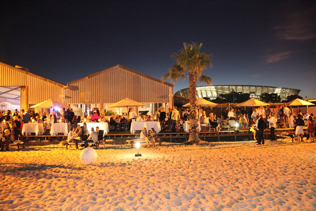 The Grand Café & Beach. Photo courtesy of the restaurant.