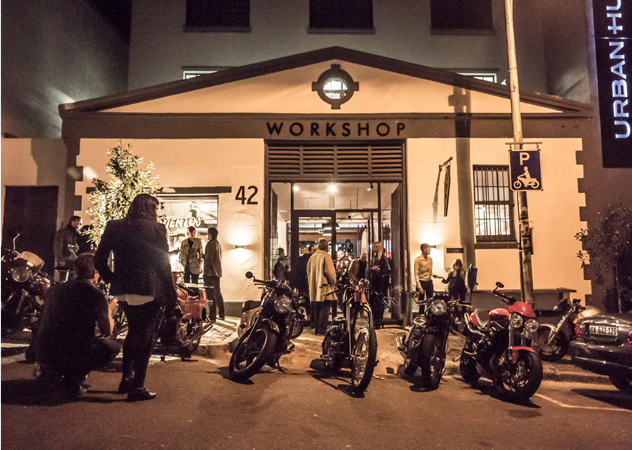 Los Muertos Motorcycles. Photo courtesy of the restaurant