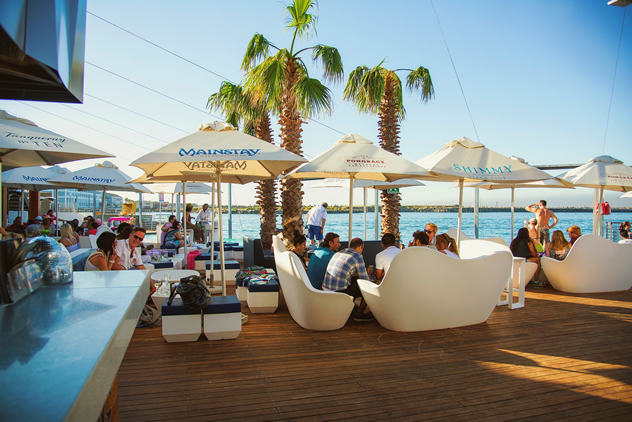 Shimmy Beach Club. Photo courtesy of the restaurant.