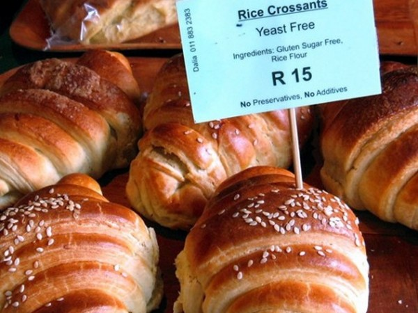 Croissants at the Bryanston Organic and Natural Market. Photo supplied.