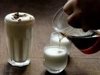 Cascara chai latte