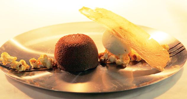 Chocolate fondant Brasserie de Paris
