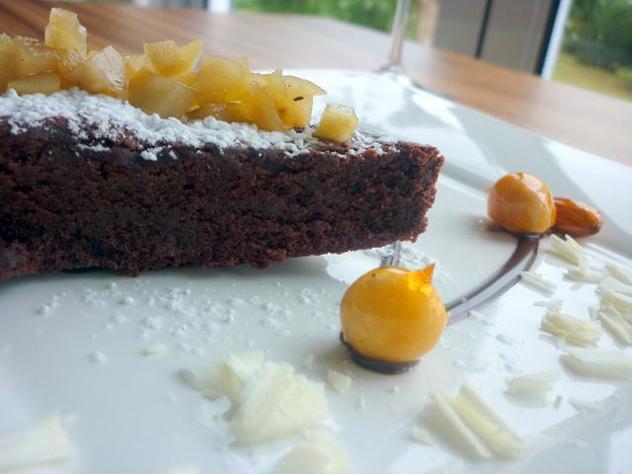 Dessert at La Sosta
