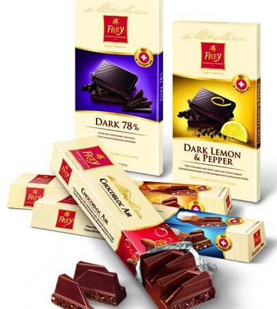 Win one of five Frey Swiss Chocolate hampers worth R500