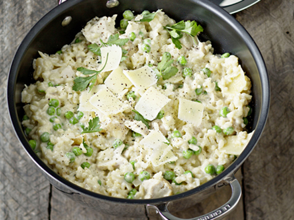 Le Creuset_Chicken and Pea Risotto