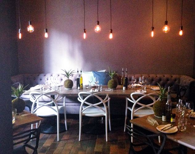 The dining area at Palma. Photo courtesy of the restaurant.