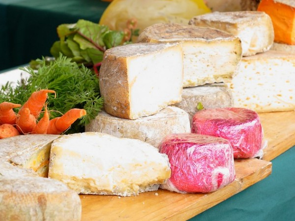 Cheese at The Shongweni Farmer's Market. Photo supplied.