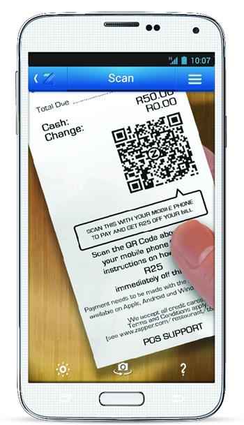 Zapper secure payment app