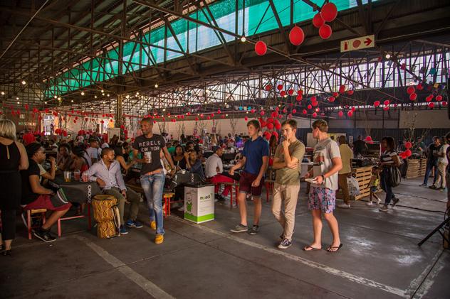 Market@theSheds. Photo courtesy of Eben Liebenberg.