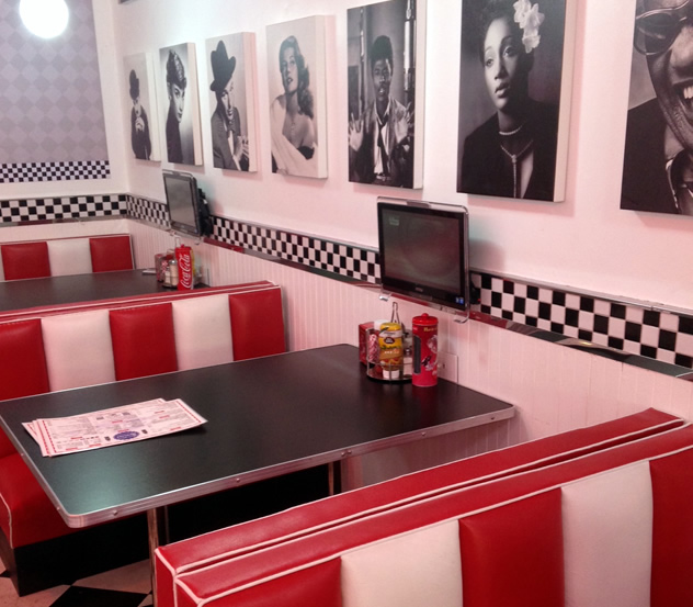 Franky's Diner. Photo courtesy of the restaurant.