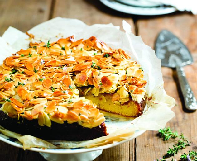 Honey thyme cake