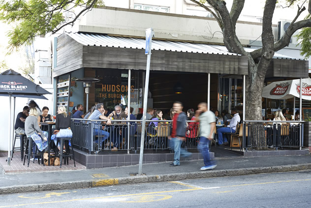 Hudson's on Kloof. Photo courtesy of the restaurant.