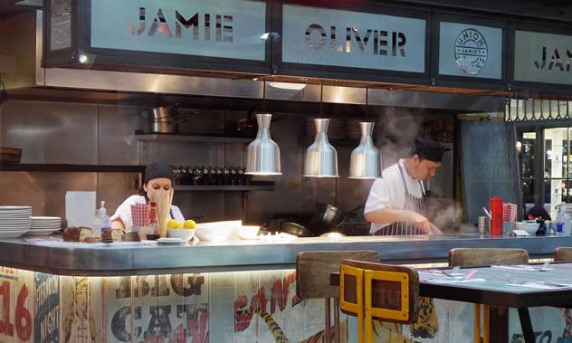 Jamie's Italian. Photo by Andrew Gustar.