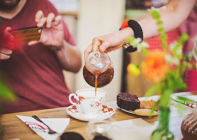 Lady Bonin's Tea Parlour. Photo courtesy of Claire Gunn Photography.