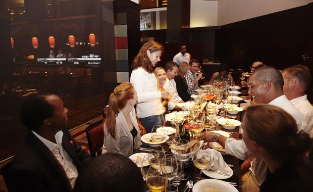 Lizelle Gerber introduces Boschendal wine