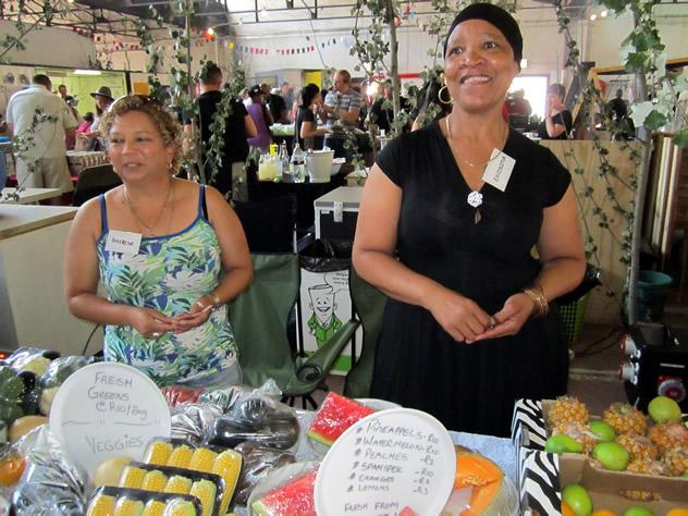 Market@theSheds. Photo courtesy of Louzelle Louwrens.