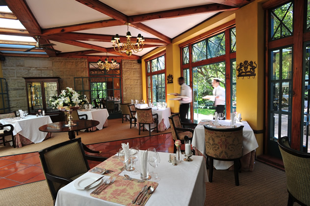 The Conservatory at De Hoek. Photo courtesy of the restaurant.