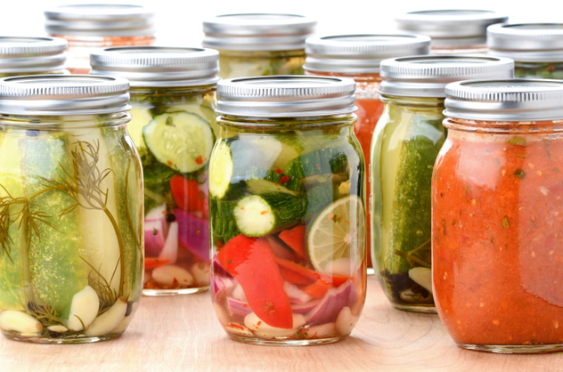 The army of jars grew dissatisfied with their working conditions and mounted a rebellion.