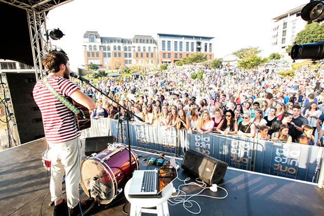The second annual Umhlanga Food and Music Festival.