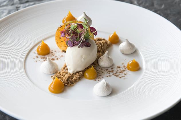 Pumpkin Cheesecake. Photos courtesy of Rupesh Kassen.