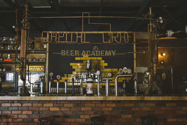 Capital Craft Beer Academy. Photo courtesy of the restaurant.