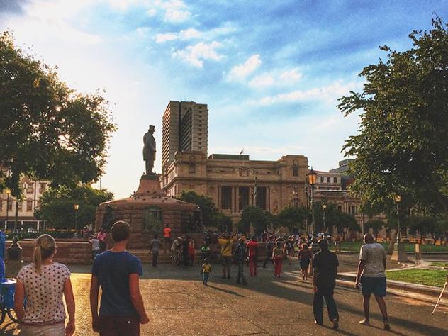 Church Square in Pretoria CBD by Tyler Yeo