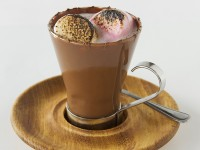Hot chocolate with marshmallows at Craft Parkhurst