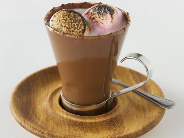 Hot chocolate at Craft Parkhurst