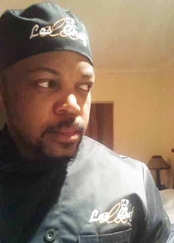Lesego Semenya in uniform