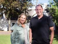 Mariota Enthoven and chef PJ Vadas