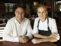 Neil Grant with chef Annemarie Steenkamp