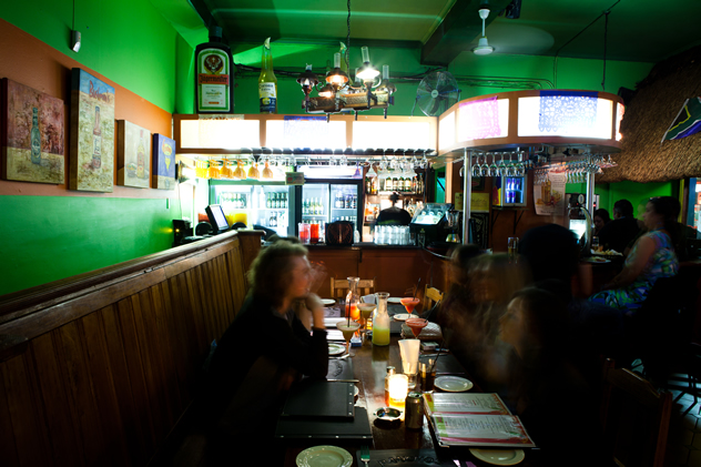 People having dinner at Pancho's. Photo courtesy of the restaurant.