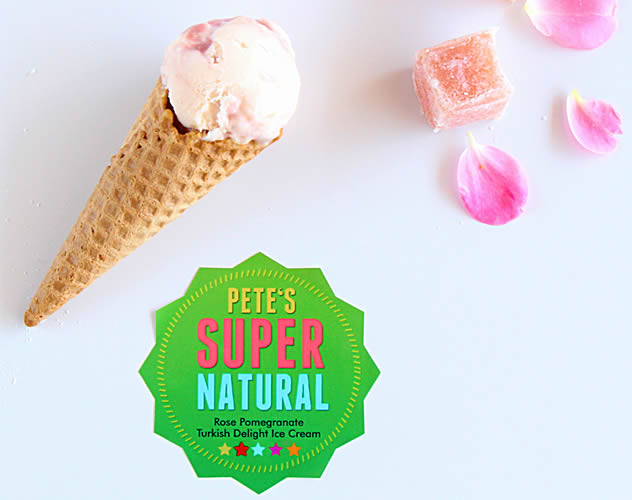 Pete's Super Natural ice cream