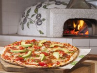Cafe del Sol Botanico pizza